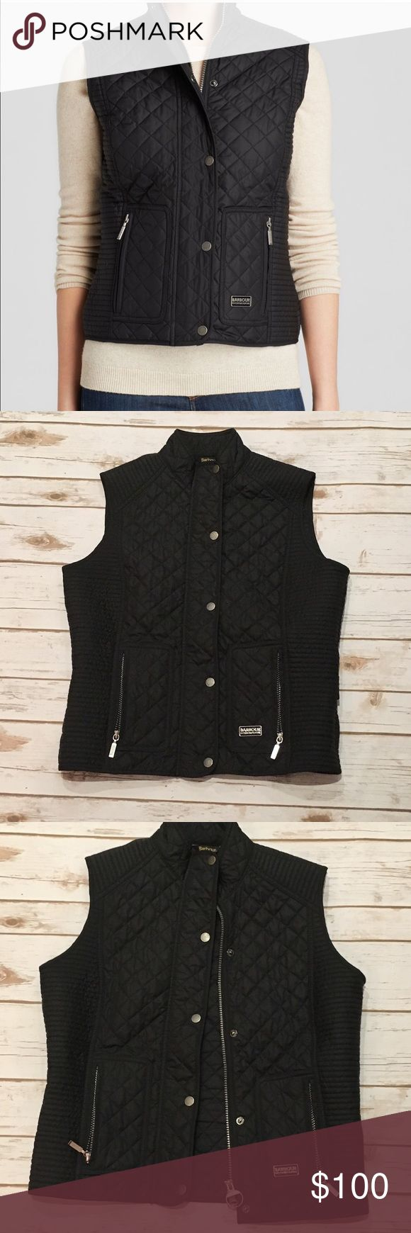 Barbour Road Star Gilet US Size 8 Worn twice in excellent condition . 100% polyester Barbour Jackets & Coats Vests