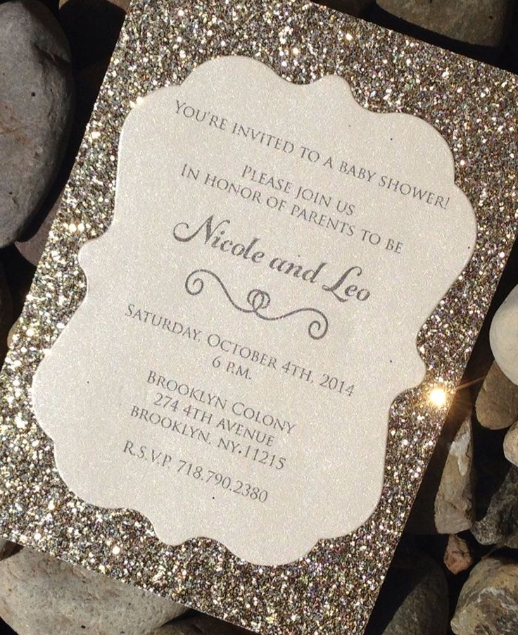 nice glitter wedding invitations best photos