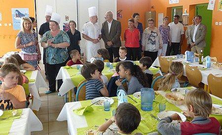 Le menu des Toques Blanches pour 8 500 enfants dans les restaurants scolaires