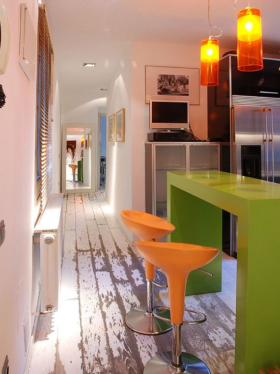 Painted Wood Floor Design, Pictures, Remodel, Decor and Ideas - page 2