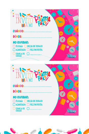 invitaciones de pijama party - Buscar con Google