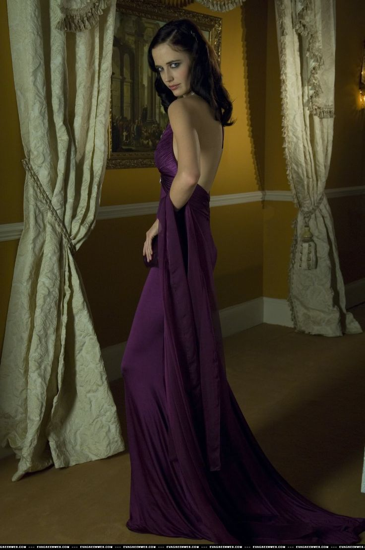 casino royale purple dress movie pinterest. Black Bedroom Furniture Sets. Home Design Ideas
