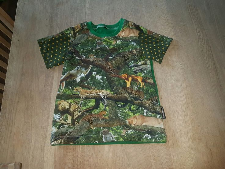 T-shirt. Mønster fra Ottobre