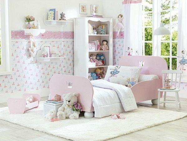 lindo quarto de menina rosa