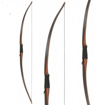 Big Tradition Ibis Black Longbow 68 inch 30-55 lbs