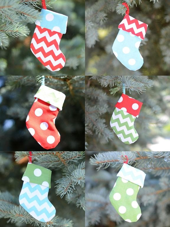 Give Out Gift Cards In Mini Handmade Stockings Feeling Crafty