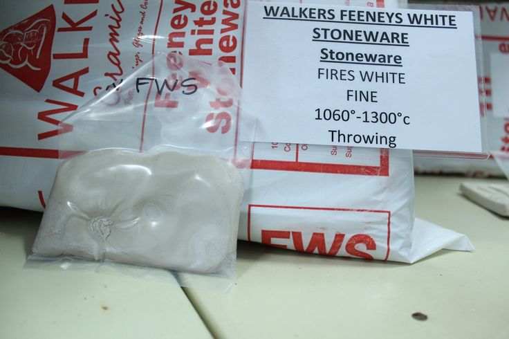 Walker Feeneys White Stoneware | Stoneware Clay from Pottery Supplies Online | Pottery Supplies Online