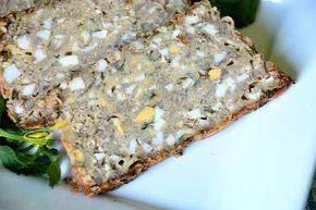 Bardzo smaczny wegetariański pasztet, pyszny sam w sobie i do pieczywa. inspiracja 10 ugotowanych na twardo jajek 800 gramó...