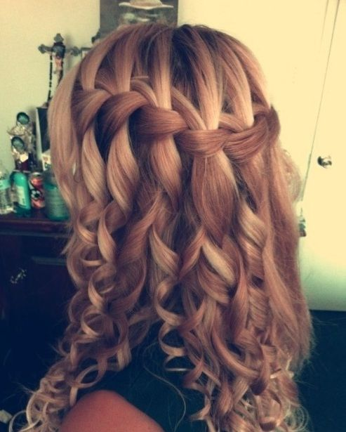 Waterfall Braid http://glamorous-hairstyles.com/48-creative-waterfall-braids-to-inspire-you.html