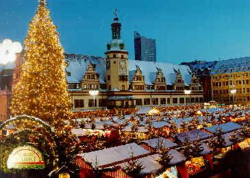Leipzig, Germany- 2007- saw the Leipzig street markets with Annemarie & Shona.