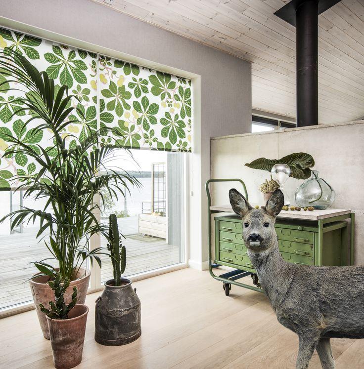 Luk naturen ind med den nye Scandinavian Design Collection, fra Luxaflex® #Natur #Kunst #Design