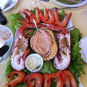 Restaurante Mariscos e Petiscos, Cabanas de Tavira, Algarve, Portugal