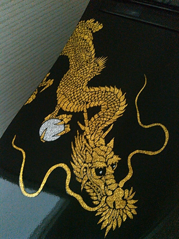 BIDOCORO「行」のデザイン「龍」