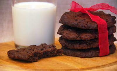 Aduna's food: Čokoládové cookies