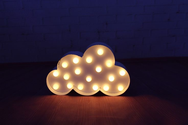 White Cloud LED Marquee Sign LIGHT UP  Vintage metal night light  wall lamps  Indoor Deration-in Night Lights from Lights & Lighting on Aliexpress.com | Alibaba Group