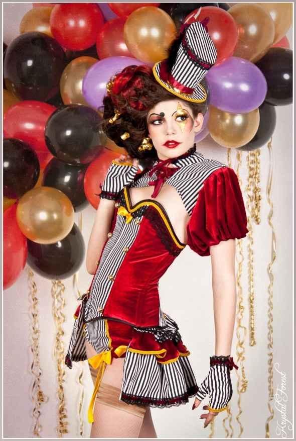 Burlesque Circus Corset