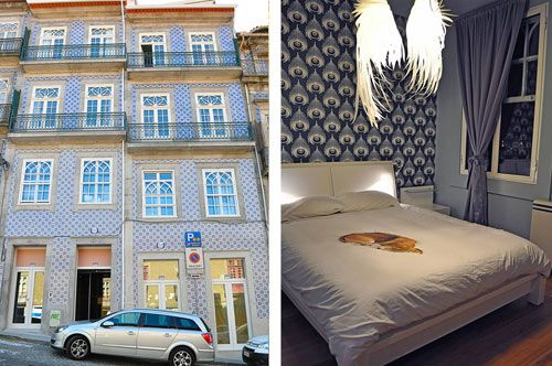 Tattva Design Hostel Porto, Portugal - Centre Downtown location