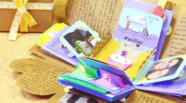 Caja sorpresa explosiva regalo paso a paso regalos para - Hacer sorpresa a tu pareja ...