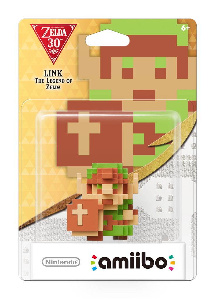 Legend of Zelda 8bit Link Amiibo