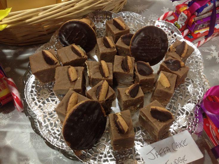 Jaffa Cake fudge