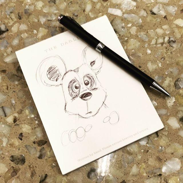 Doodling.. while waiting for appointment for passport renewal @sydney. . . #doodling #boredom #doodles #sketch #passport #teddybear #cute #kids #likeforlike #instaart #art #cartoons #illustrations #mommyblogger #aussie #handdrawn #nurserydrawing #australiamade #cartoonist #illustrator #disney  #disneyfan #lovedisney #instadisney #foodie #instafood #happyhumpday #wednesdaylunch