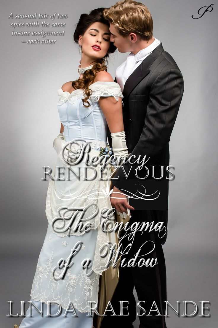 """AKA The Enigma of a Widow, this is the sensual tale of two spies with one insane assignment—each other. Book 10 in the """"Regency Rendezvous"""" series"""