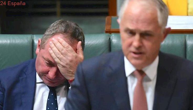 El gobierno de Australia pierde su mayoría por la doble nacionalidad del viceprimer ministro