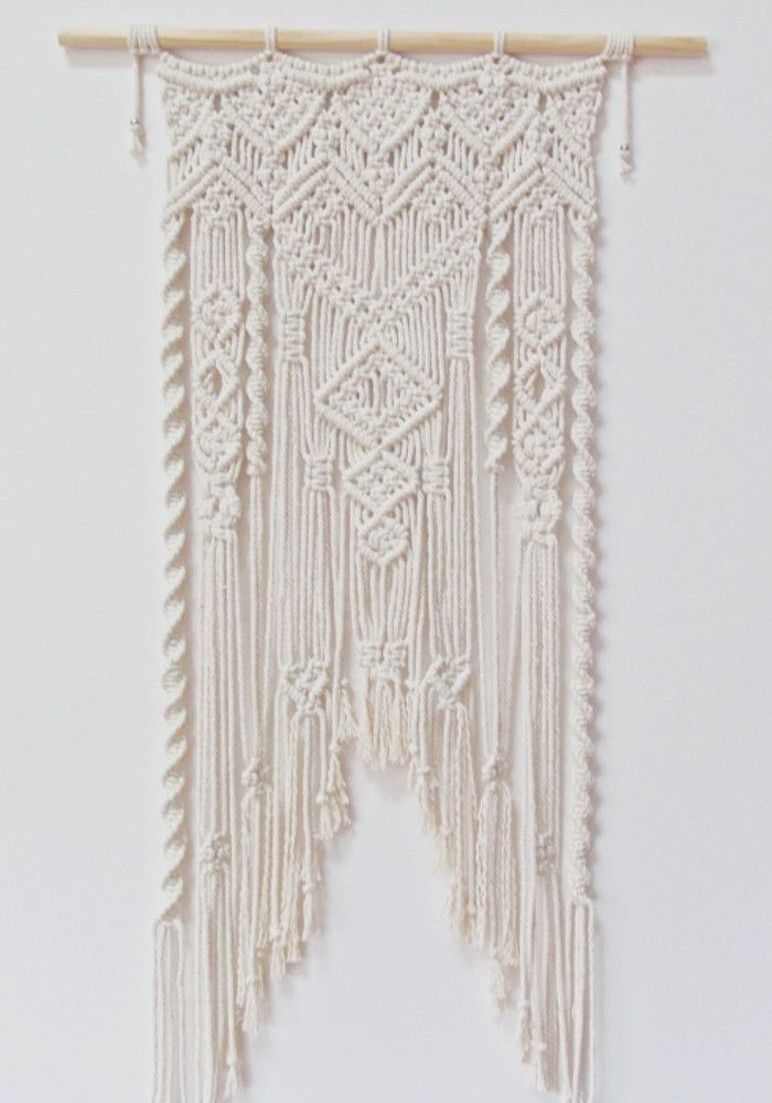 Three Thirty Three Macrame Wall Art 354