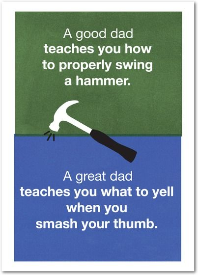 Thanks Dad! | Personalized cards from Treat.com  #dad #lifelessons