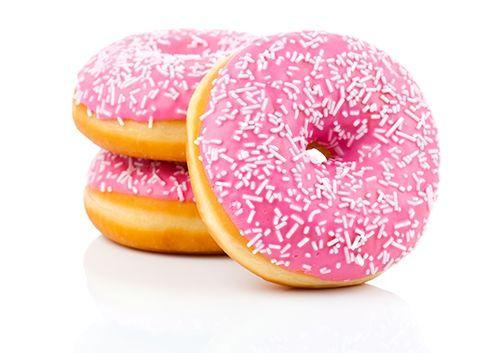 Receta de Donuts con Glaseado Rosa