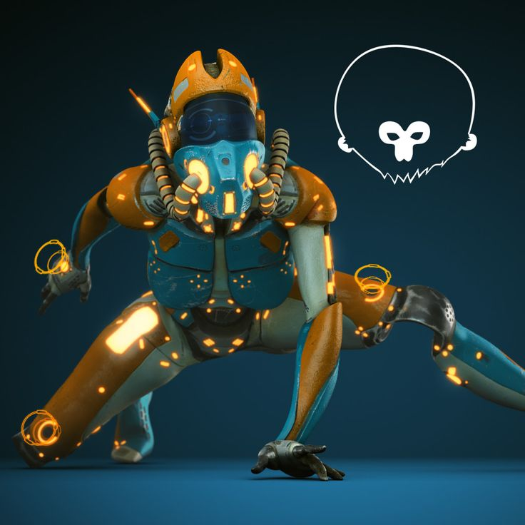 Data Bot - Speed Sculpt..., Daniel McKay on ArtStation at https://www.artstation.com/artwork/0drbw