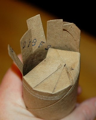 Cardboard seed starters
