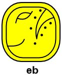 19-09__Day Sign: Eb (South) Eb - (pronounced: eb) Key meaning: cooperative usefulness.      Relaxed     Pleasant     Dedicated     Fortunate...