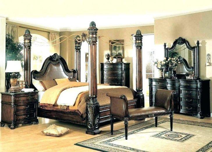 Elegante Cal King Schlafzimmer Sets Luxus California Set