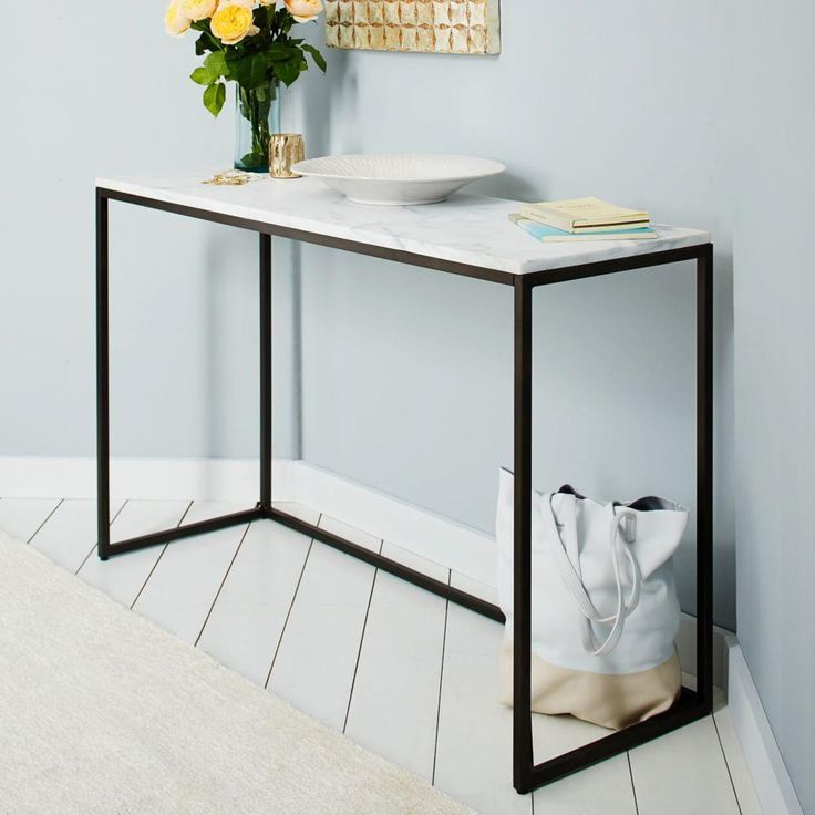 Beautiful Marble Hall Table