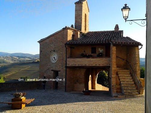 Little castle of Loretello, Arcevia, Marche - Italy