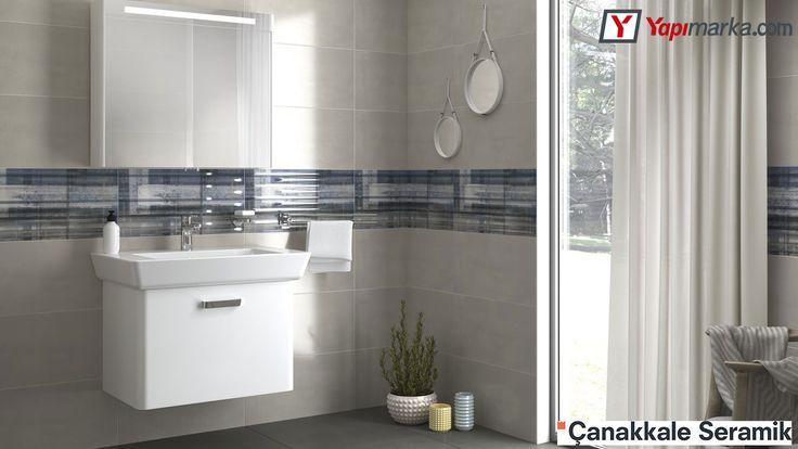 Çanakkale Seramik Vivien Banyo Tasarımı www.yapimarka.com