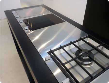 Marvelous Barazza B_Free Fusion Allows A Unique Choice Of Combinations In B_Free Hobs  To Satisfy Any Cooking