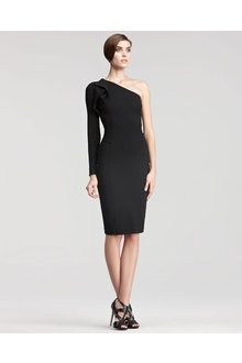 Elie Saab One sleeve Dress