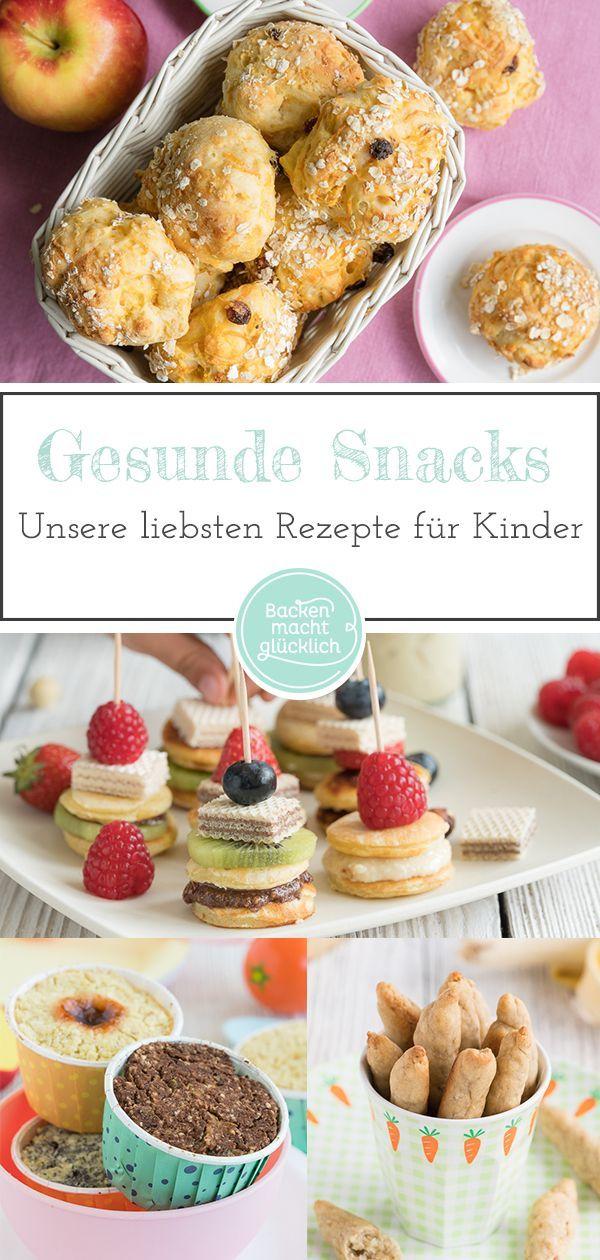 Die besten gesunden Snacks für Kinder und Babys #Babys #best #the # for #gesu …   – How To Eat Healthy