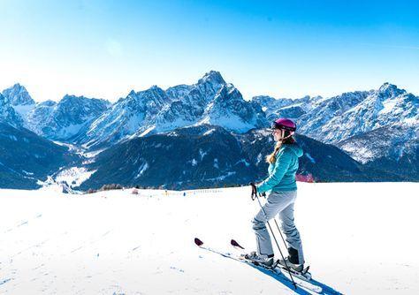Skifahren in Südtirol: Das Skigebiet Drei Zinnen Dolomiten