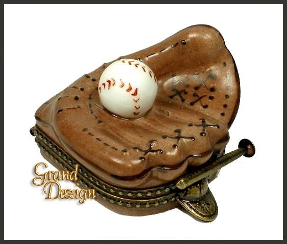 Baseball Glove  Baseball limoges-boxes-and-more