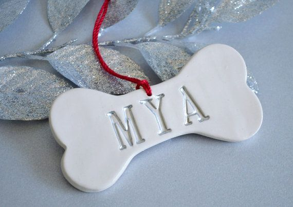 Personalized Dog Christmas Ornament | Susabellas | Etsy