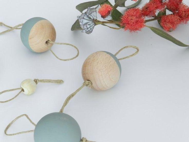 DIY: Bolas de Navidad con aire nórdico