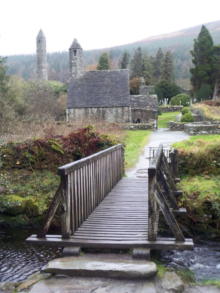 Glendalough in Ireland. http://www.traveladdicts.net/2008/03/kilkenny-ireland.html#