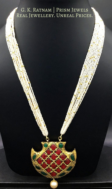 Diamond Polki | Vilandi | Polki | Uncut diamonds | Old cut diamonds | Traditional | Indian | Bridal | Wedding | Kundan Meena | Jadau | Jadtar | Hallmarked | Gold | Enamel | Jewelry | Jewellery | Thappa | Foil | Antique | Economical