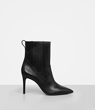 ALLSAINTS XAIN HEEL BOOT. #allsaints #shoes #