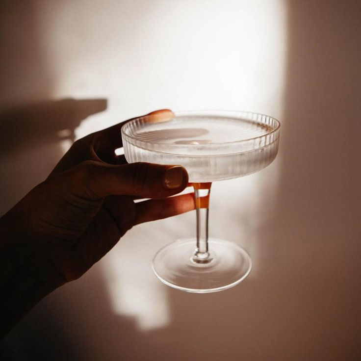 Ripple Champagne Saucers In 2020 Champagne Saucers Champagne Crystal Glassware