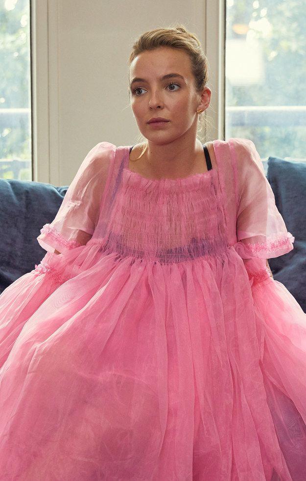 14++ Villanelle pink dress ideas in 2021