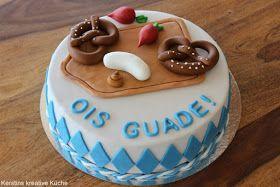 bayern, torte, Niederbayern, kuchen, weißwurst, breze, brozeitbrett, geburtstag, ois guade